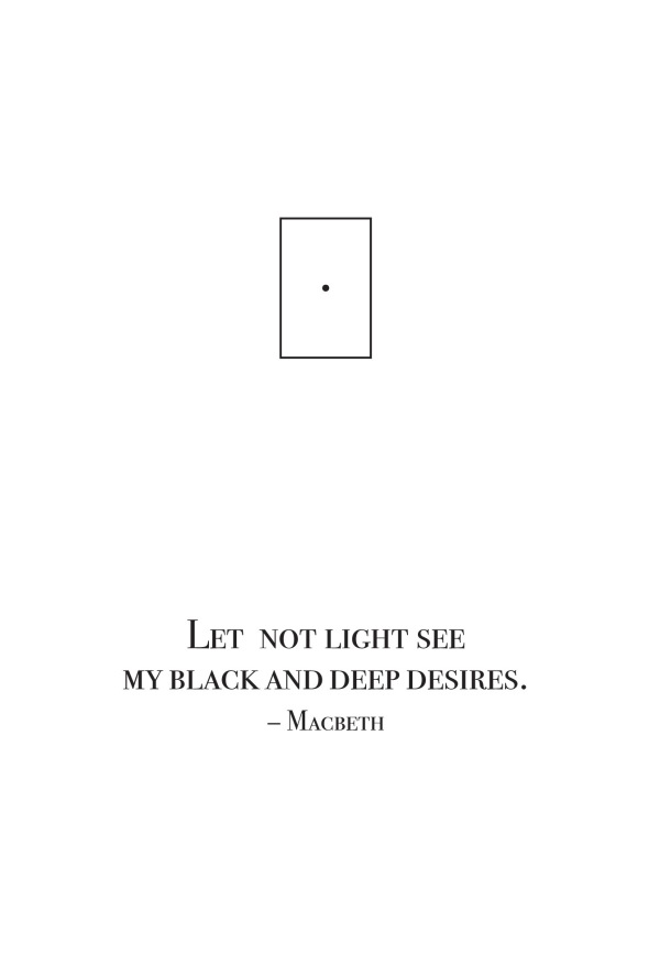 let not light see